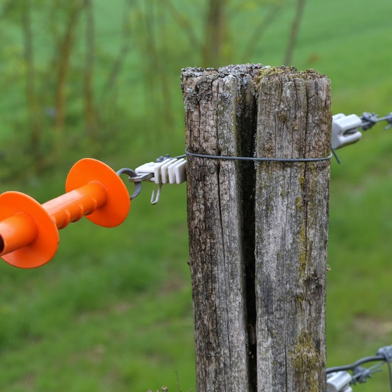 electric fence end
