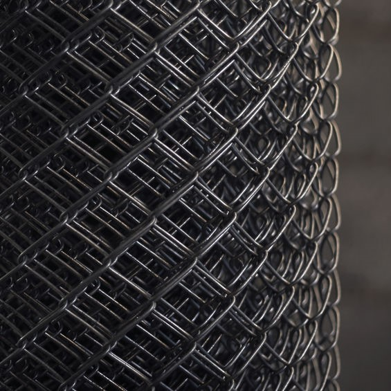 roll of chain link fencing
