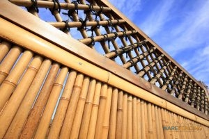 Bamboo Fence Installation