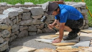 Affordable Flagstone Walkway Installation In Crowley And Fort