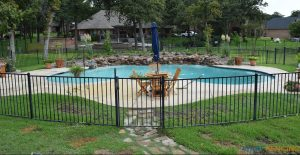 Full Pool Safety Fence