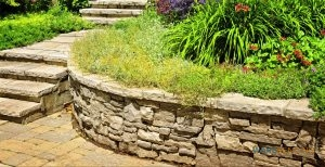 Rock Retaining Walls